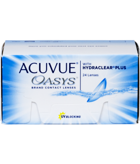 ACUVUE® OASYS® with HYDRACLEAR® PLUS 24 pack