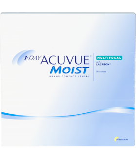 1-DAY ACUVUE® MOIST® Multifocal 90 pack